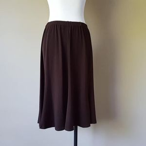 L / Bay Studio Career / Skirt / Brown / Large